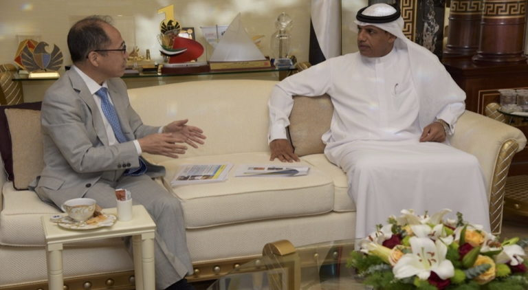 مدير جمارك دبي يبحث تعزيز التعاون والتنسيق مع القنصل الياباني