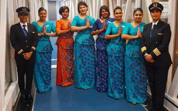 """الجوية """"السريلانكية"""" تُسير رحلة بطاقم نسائي كامل في إطار الاحتفال بيوم المرأة العالمي"""