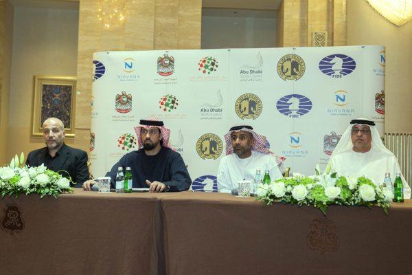 """بمشاركة وفود من 194 دولة : """"كونغرس """" المؤتمر الدولى لاتحاد الشطرنج ينطلق في ابوظبي غداً"""
